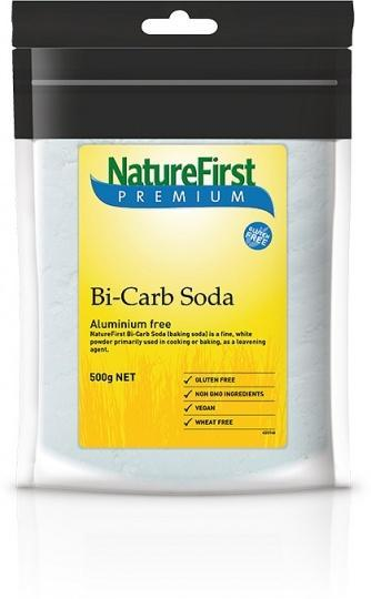 Nature First Bicarb Soda (Aluminium Free) G/F 500g