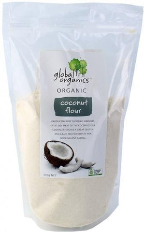 Global Organics Coconut Flour 500g-Health Tree Australia