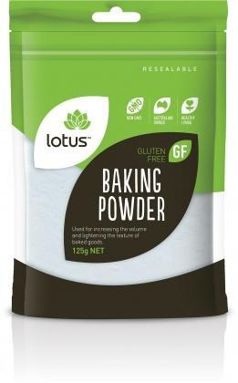 Lotus Baking Powder G/F 125g