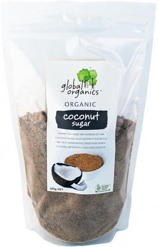 Global Organics Coconut Sugar 500g-Health Tree Australia