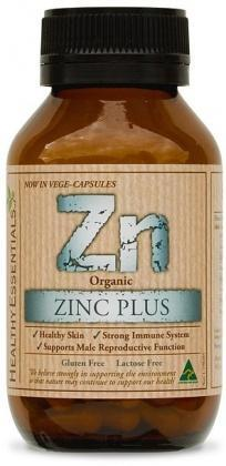 Healthy Essentials Organic Zinc Plus 50caps