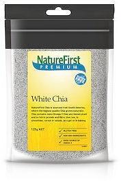 Natures First Chia Seeds White 125g-Health Tree Australia
