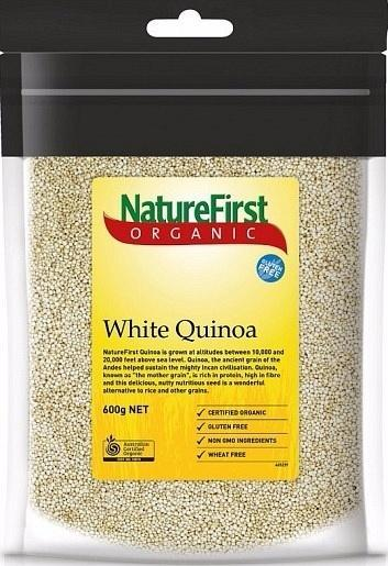 Natures First Organic Quinoa White Bag 600g-Health Tree Australia