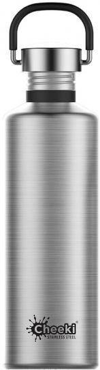 Cheeki Classic Stainless Steel Silver Bottle 750ml