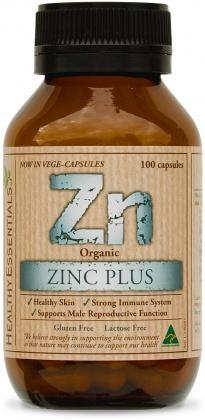 Healthy Essentials Organic Zinc Plus 100caps