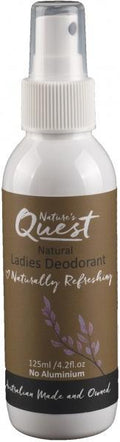 Nature's Quest Deodorant Ladies 125ml