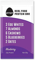 Googys Natural Protein Bar Blueberry G/F 12x55g
