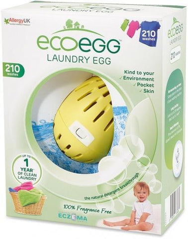 Ecoegg Laundry Egg 210 Washes Fragrance Free