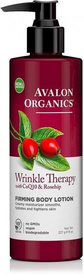 Avalon Organics Wrinkle Therapy with CoQ10 & Rosehip Firming Body Lotion 227g-Health Tree Australia
