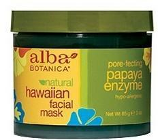 Alba Hawaiian Papaya Enzyme Facial Mask 85gm - Health Tree Australia
