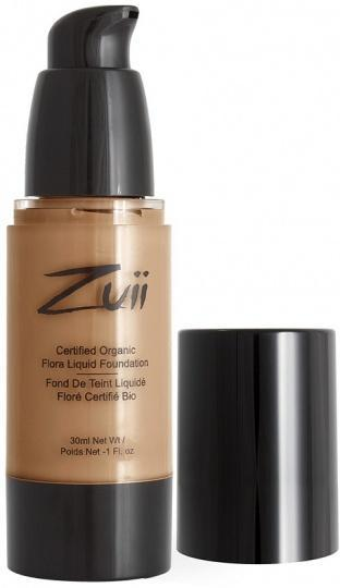 Zuii Flora Liquid Foundation Golden Tan 30ml
