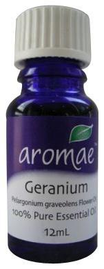 Aromae Geranium Essential Oil 12mL-Health Tree Australia