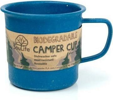 EcoSouLife Bamboo Camper Cup Navy 430ml-Health Tree Australia