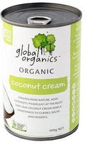 Global Organics Coconut Cream G/F 400g Can