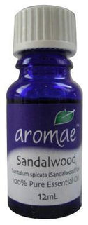 Aromae Sandalwood Essential Oil 12mL-Health Tree Australia