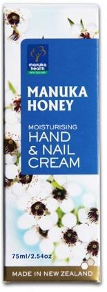 Manuka Health MGO250 Honey Hand&Nail Crm 75ml-Health Tree Australia