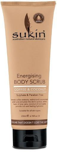 Sukin Energising Body Scrub with Coffee & Coconut 200ml