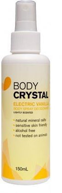 Body Crystal Mist Electric Vanilla 150ml-Health Tree Australia