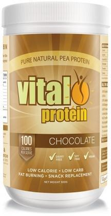 Vital Protein Pea Protein Isolate Choco Pwdr 500g-Health Tree Australia