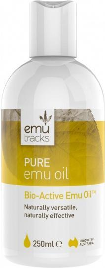 Emu Tracks Pure Emu Oil 250ml-Health Tree Australia