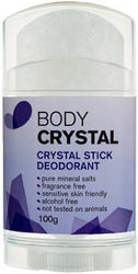 Body Crystal Stick Fragrance Free 100gm-Health Tree Australia