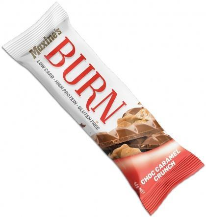 Maxine's Burn Bar Double Choc Fudge G/F 12x40g-Health Tree Australia