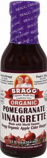 Bragg Dressing Vinaigrette Pomegranate Organic G/F 354ml