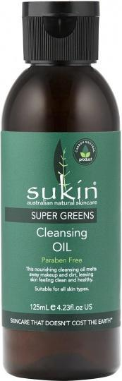Sukin Super Greens Detoxifying Cleansing Oil 125ml-Health Tree Australia