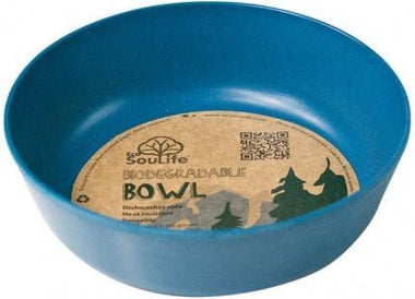 EcoSouLife Bamboo (D15 x H5cm) Bowl Navy-Health Tree Australia