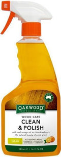 Oakwood Wood Care Clean & Polish 500ml