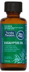 TP Eucalyptus Oil 100% 100ml-Health Tree Australia