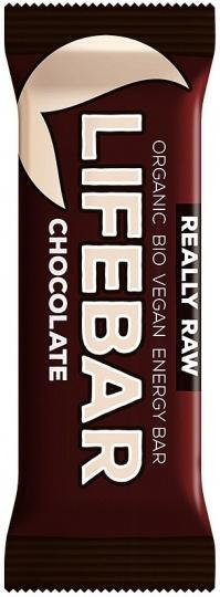 Lifebar Organic Energy Chocolate G/F 15x47g-Health Tree Australia