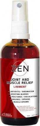Zen Natural Herbal Liniment Spray 100ml