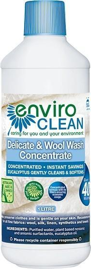 Enviro Care Delicate & Wool Wash 1L New