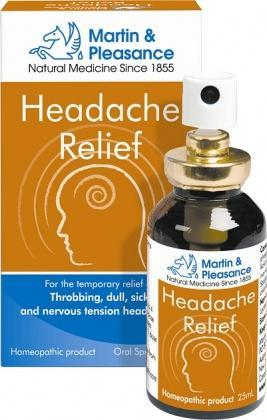 Martin & Pleasance 25ml Headache Relief
