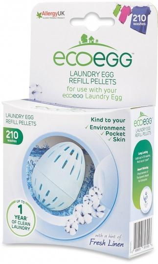 Ecoegg Laundry Egg Refill Pellets 210 Washes Fresh Linen