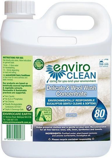 Enviro Care Delicate & Wool Wash 2L New