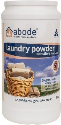Abode Front & Top Loader ZERO Laundry Powder 1kg