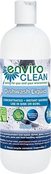 Enviro Care Dish Wash Liquid 500ml New