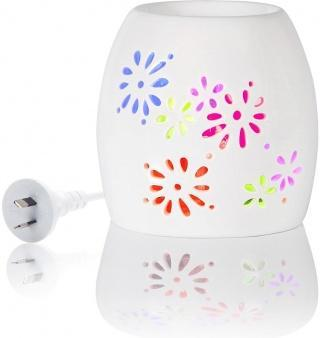 Aromamatic LED Multi Light Elec Rainbow Vaporizer-Health Tree Australia