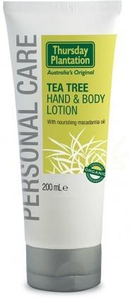 TP Tea Tree Hand&Body Lotion Organic 200ml-Health Tree Australia