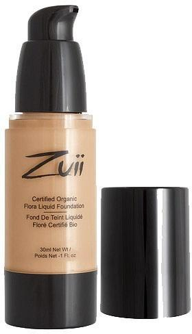 Zuii Flora Liquid Foundation Olive Neutral 30ml-Health Tree Australia