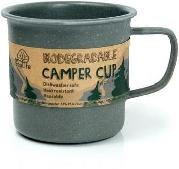 EcoSouLife Bamboo Camper Cup Charcoal 430ml-Health Tree Australia