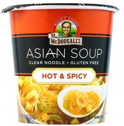 DR MCDOUGALL Clear Noodles Hot & Spicy G/F 28g