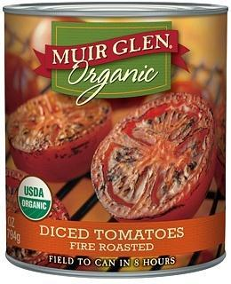 Muir Glen Tomatoes Fire Roasted Diced 794gm