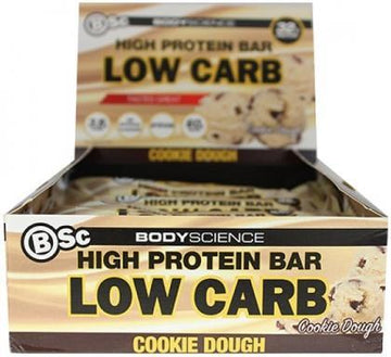Bsc High Protein Bar Cookie Dough 8x60g