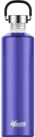 Cheeki Classic Stainless Steel Lavender Bottle 1L