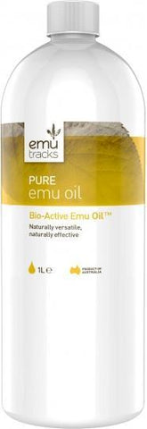 Emu Tracks Pure Emu Oil 1Ltr-Health Tree Australia