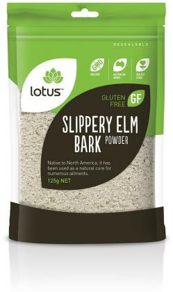 Lotus Slippery Elm Bark Powder G/F 125gm