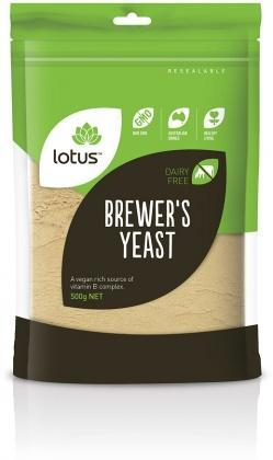 Lotus Brewers Yeast Dark 500gm